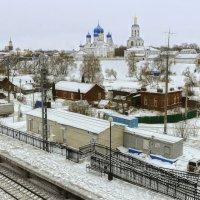 Станция Боголюбово...январь 2017. :: leonid