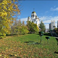Осень в Екатеринбурге :: Leonid Rutov
