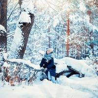 Утро в зимнем лесу :: Ирина Манакова