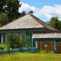 Дом в селе. :: Наталья