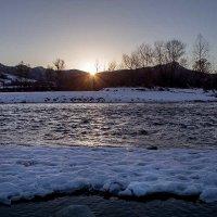 Рассвет на реке Малая Лаба :: Ирина Рассветная