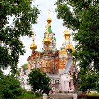 Храм во имя Преподобного Сергия Радонежского в Чапаевске Самарской области :: Денис Кораблёв