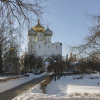 Успенский собор Новодевичьего монастыря :: Игорь Егоров