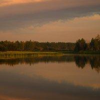 Рассвет на Карасевом озере :: Оксана Галлямова