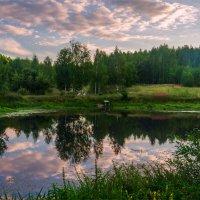 Закат на Луговом озере :: Александр Березуцкий (nevant60)