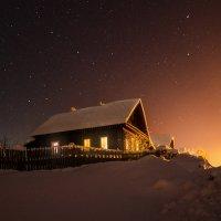Деревенская ночь :: Евгений