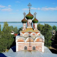 Осташков. Вид на Троицкий собор с колокольни :: Елена Павлова (Смолова)