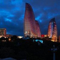 Башни Пламени. Баку. Азербайджан. :: Ирина Токарева