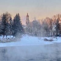 Морозный вечер в Торжке :: Павел Кочетов