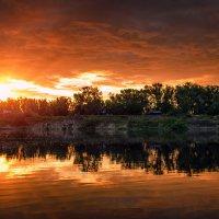 Рассвет на Ахтубе :: Александр Афромеев
