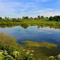 Село за озером :: Сергей Чиняев