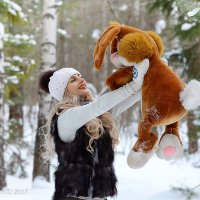 зимняя прогулка в лесу :: Юрий S