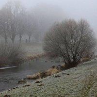 Туманом покрыты берега. :: Юрий. Шмаков