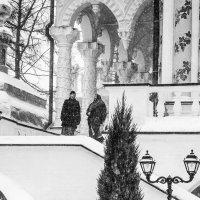 Лавра в снегу :: Светлана Шмелева