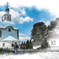 Успенская церковь. Подмосковье, с. Успенское :: Сергей Козырев