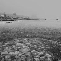 Замерзшее море. Черно-белая версия :: Виктория Бондаренко