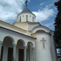 Храм Покрова в Нижней Ореанде :: Дмитрий Никитин