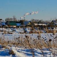 Морозные солнечные дни и дымят трубы над снежным покровом земли... :: Paparazzi