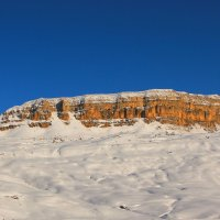 Г. Гумбаши (Песчаная Голова) зимой. Высота около 2300 м :: Vladimir 070549
