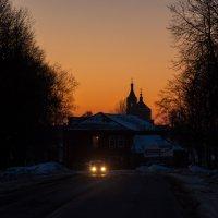 Ночь в дороге :: Alexander Petrukhin