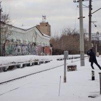Станция Мальчики в городе Люберцы и фотограф! :: Ольга Кривых