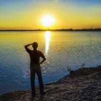Минута заката :: юрий Амосов