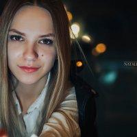 Красивая девушка в ночи.. :: Наталья Корнилова