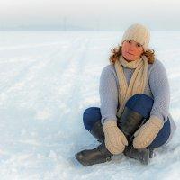 Морозным днём. :: Андрей Ярославцев