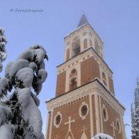 Колокольня  Храма Св.Георгия. :: Anna Gornostayeva