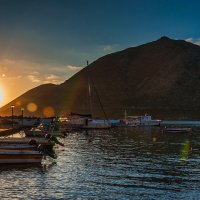 утро в д. Бали, остров Крит, Греция :: Олег Загорулько