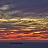 Море в небе утонуло :: Ефим Журбин