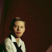 Портрет мальчика с мольбертом :: Алексей Кривцов
