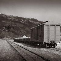 Маленькая горная станция. :: Андрий Майковский