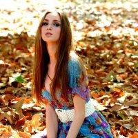 Девушка-Осень :: Натали Пам