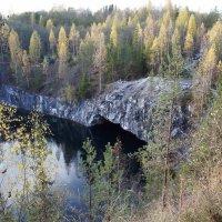 Мраморный каньон Рускеала: горный парк Рускеала :: Елена Павлова (Смолова)