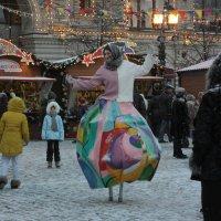 Москва.Красная площадь.21.01.2017г. :: Виталий Виницкий