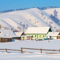 Зима в деревне :: Любовь Потеряхина