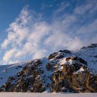 Слияние скал и неба :: Виктор Гришенков