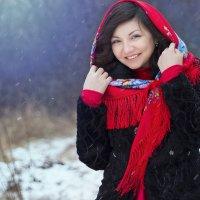 У нас снова пришла снежная зима! :: Райская птица Бородина