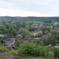 Вид с горы Кухавуори (Гора-Судак). Парк «Ваккосалми» :: Елена Павлова (Смолова)