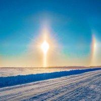 Зимняя радуга :: Alexandr