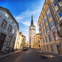 Башня святого Олафа в Таллине :: Ирина Лепнёва