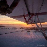 Закат в полете :: Валерий Смирнов