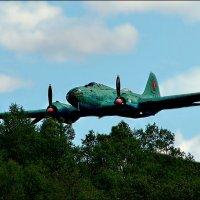 Торпедоносец Ил-4: атака на бреющем... :: Кай-8 (Ярослав) Забелин