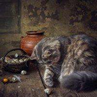 Кошка бежала, лапкой махнула... :: Ирина Приходько