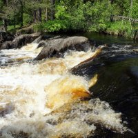 Водопад на реке Тохмайоки :: Елена Павлова (Смолова)