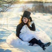 Девушка на закате :: Наталья Захарова