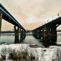 Между двух мостов :: Анастасия Михалева