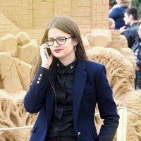 стильная девушка или мода улиц :: Олег Лукьянов