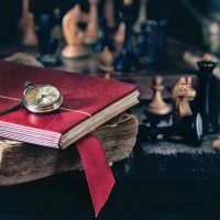 Натюрморт с шахматами и часами :: Владимир Голиков